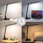 Las 10 lámparas LED de escritorio más vendidas en Internet