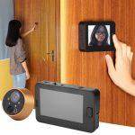 Selección de mirillas de puerta digitales