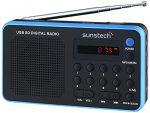 Las 10 radios portátiles digitales más vendidas