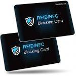 Las tarjeta bloqueo RFID más vendidas
