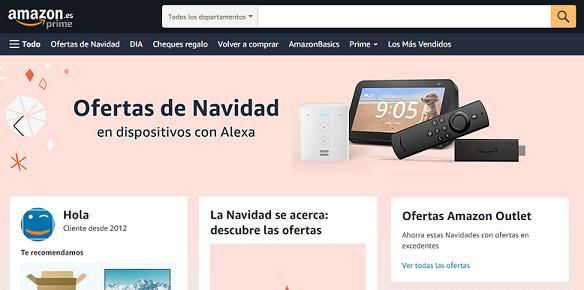 Localizar ofertas en Amazon