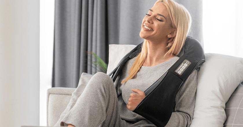 Beneficios del masajeador de cuello