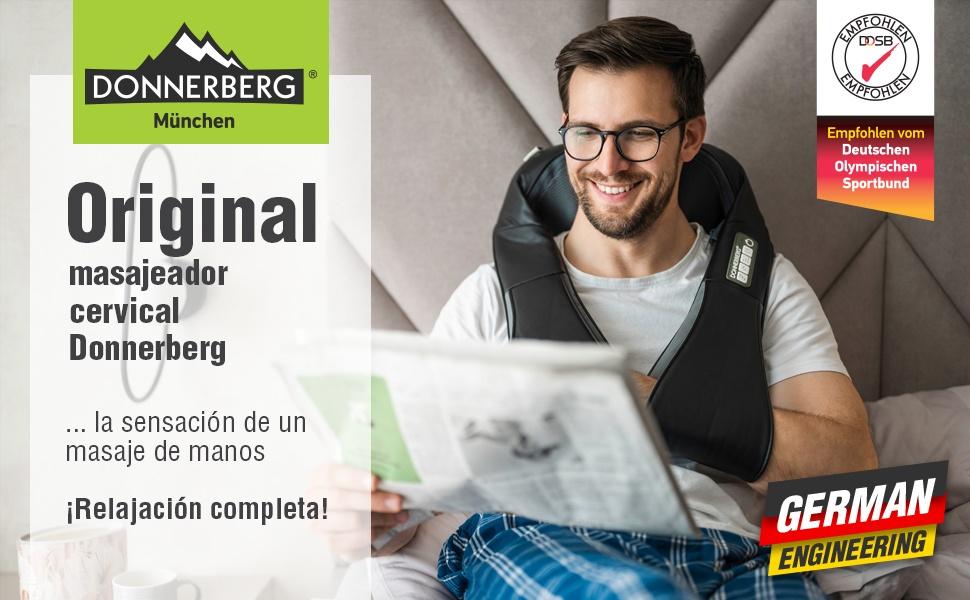 Masajeador certificado de calidad alemana